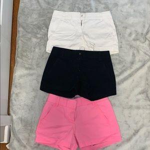 BUNDLE of J. Crew Chino Shorts